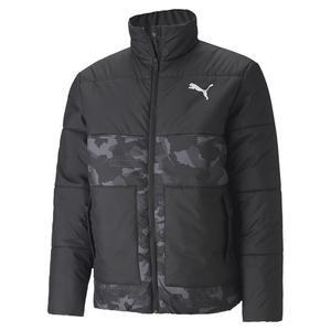 Ess Padded Graphic Jacket Erkek Siyah Günlük Mont 58315901