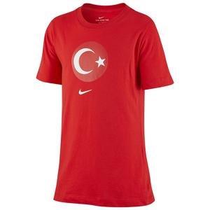 Türkiye 2020 Çocuk Kırmızı Futbol Tişört CD1490-657