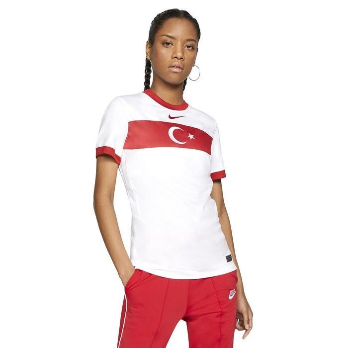 Türkiye 2020 Kadın Beyaz Futbol Tişört CD0906-100 1194815