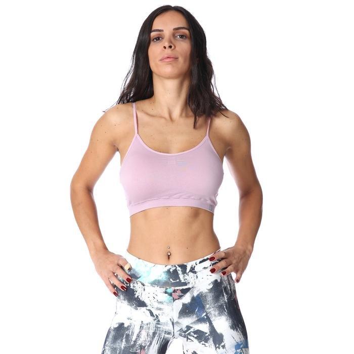 Kadın Pembe Bra Sporcu Sütyeni 710031-LIL 1158479