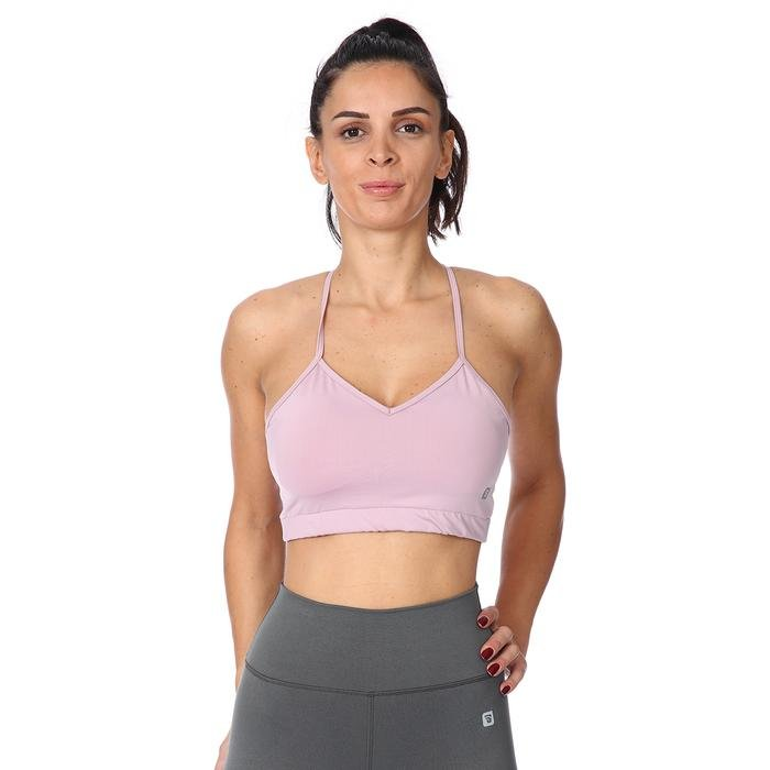 Womtekbra Kadın Pembe Sporcu Sütyeni 711026-LIL 1158625