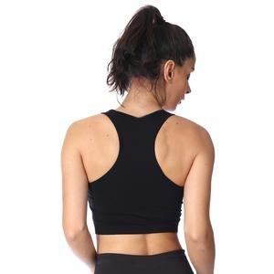 Seambranew Kadın Siyah Koşu Sporcu Sütyeni 711325-SYH