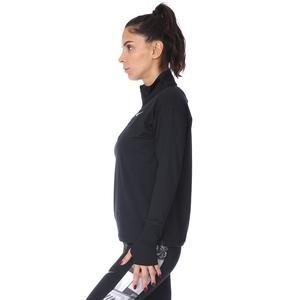 Elmnt Top Kadın Siyah Koşu Uzun Kollu Tişört AA4631-010