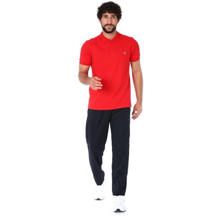 Pikepolo Erkek Kırmızı Günlük Stil Polo Tişört 711215-KRM 1158424
