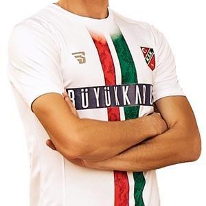 Karşıyaka Unisex Beyaz Futbol Forma TKY100151-BYZ
