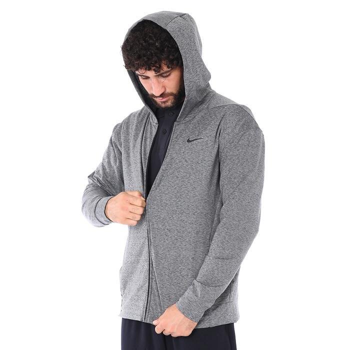 Dry Hoodie Fz Hprdry Lt Erkek Gri Antrenman Sweatshirt BQ2864-032 1062304