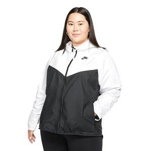W Nsw Wr Jkt Plus Kadın Beyaz Günlük Ceket CJ0415-101