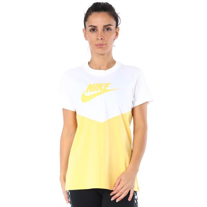 Hrtg Top Ss Kadın Beyaz Antrenman Tişört BQ9555-100 1196037