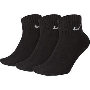V Cush Ankle- 3P Value Unisex Siyah Günlük Çorap SX4926-001