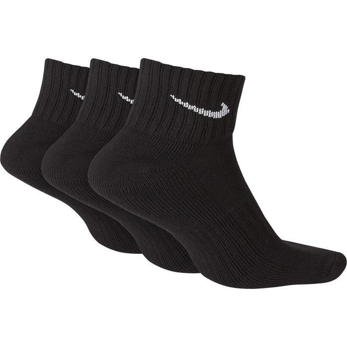 V Cush Ankle- 3P Value Unisex Siyah Günlük Çorap SX4926-001 812820