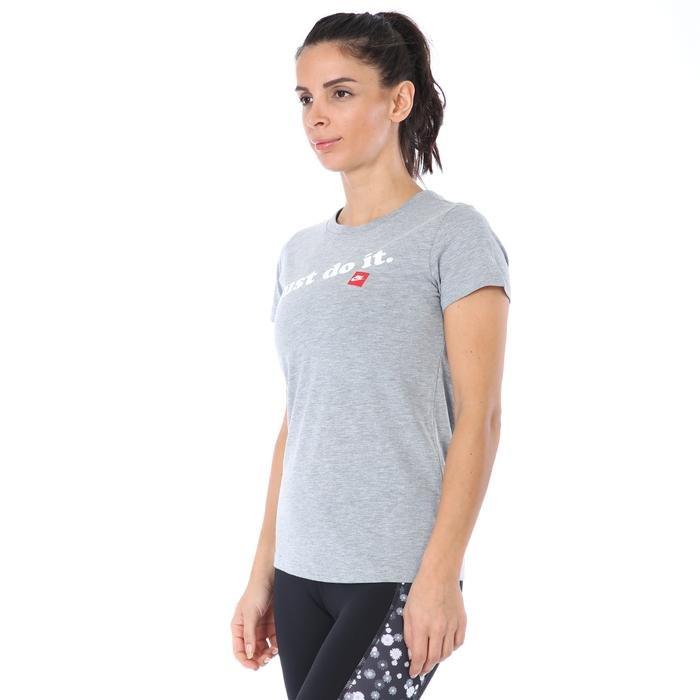 Prep Jdi Kadın Gri Günlük Stil Tişört CK4367-063 1174437