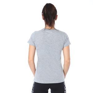 Prep Jdi Kadın Gri Günlük Stil Tişört CK4367-063
