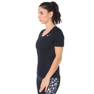 City Sleek Top Kadın Siyah Koşu Tişört CJ9444-010