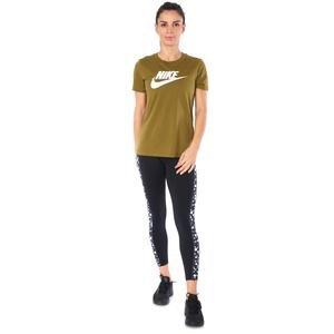 Tee Essntl icon Futur Kadın Yeşil Antrenman Tişört BV6169-368