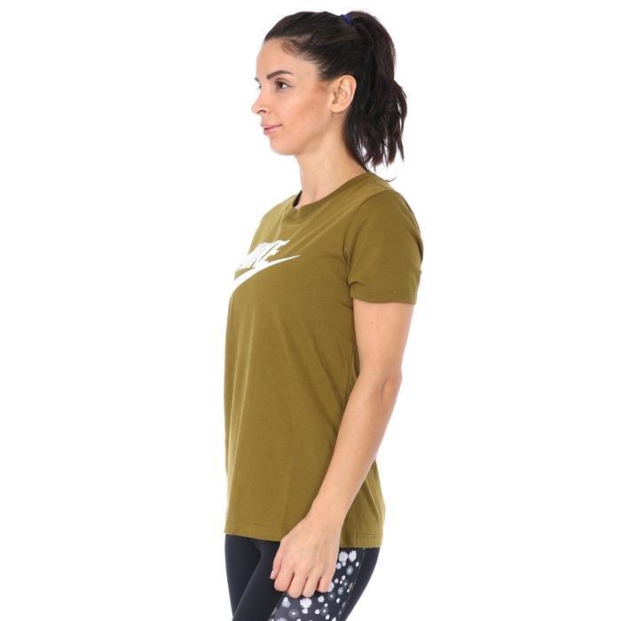 Tee Essntl icon Futur Kadın Yeşil Antrenman Tişört BV6169-368 1211521