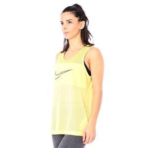 Mesh Tank Kadın Sarı Antrenman Atleti CJ4045-795