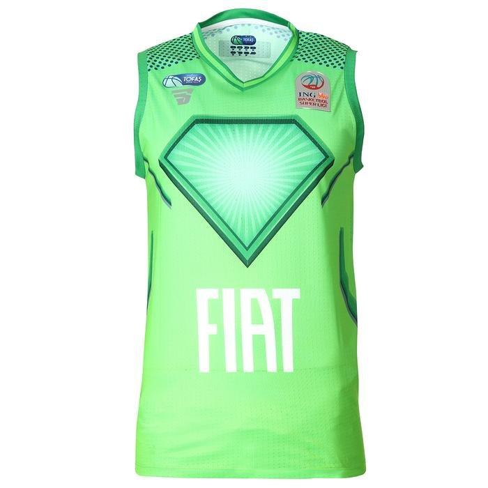 Tofaş 2020 Erkek Yeşil Basketbol Forması TKT100125-YSL 1237559