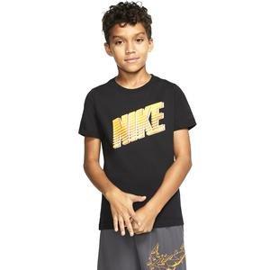 U Nsw Tee Block Çocuk Siyah Günlük Stil Tişört CU4570-010