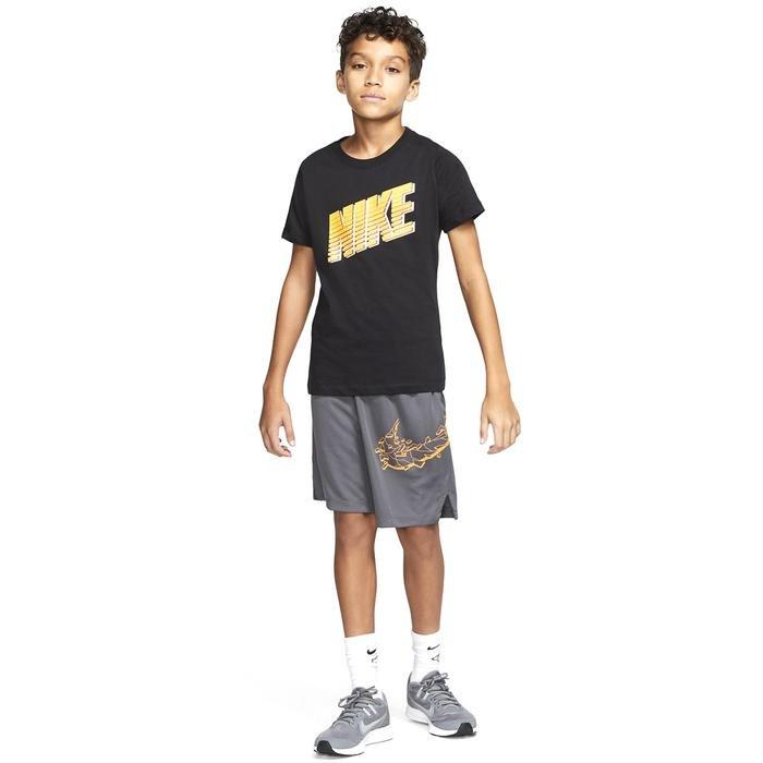 U Nsw Tee Block Çocuk Siyah Günlük Stil Tişört CU4570-010 1234460