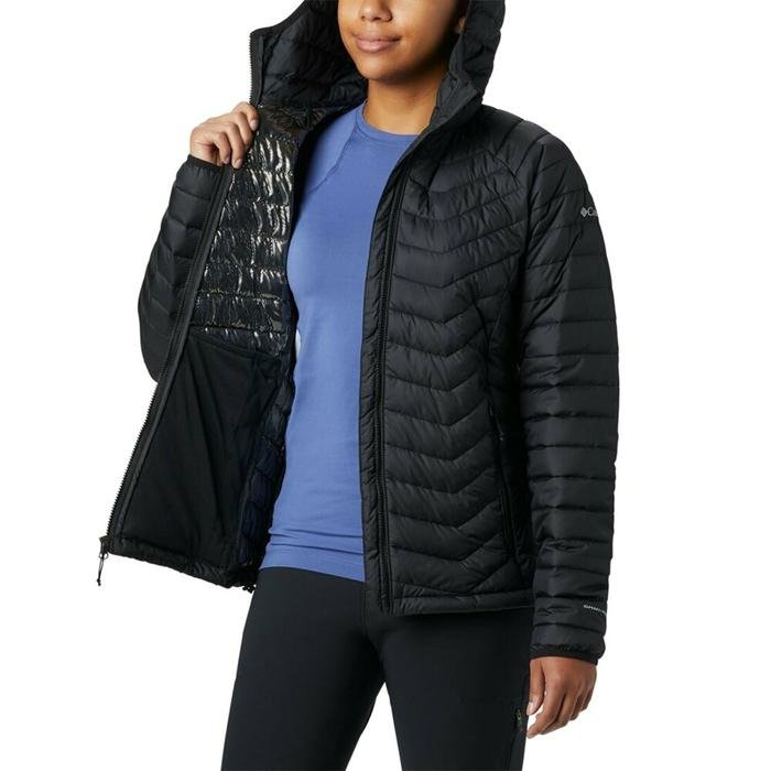 Powder Lite Hooded Kadın Siyah Outdoor Mont WK1499-011 1228660