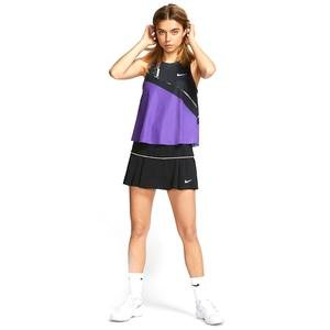 W Nkct Vıctory Skirt Kadın Siyah Tenis Etek AT5724-010