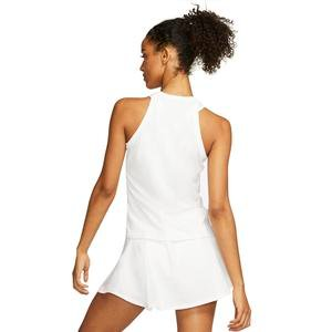 W Nkct Dry Tank Kadın Beyaz Tenis Atlet AT8983-100