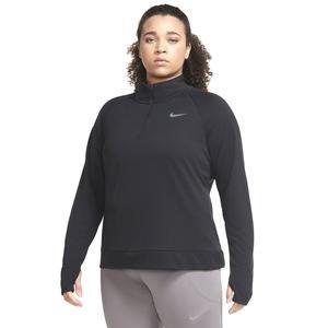 W Nk Pacer Hz Plus Kadın Siyah Koşu Uzun Kollu Tişört CZ2850-010