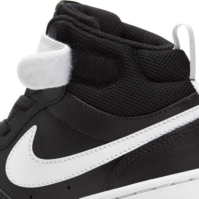 Court Borough Mid 2 (Psv) Çocuk Siyah Günlük Stil Ayakkabı CD7783-010 1234505