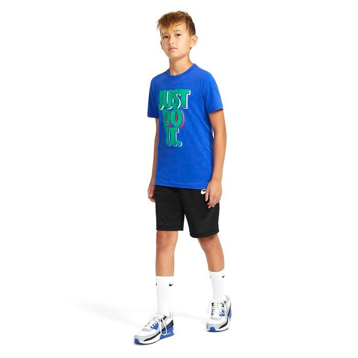 U Nsw Tee JDI Stack Çocuk Mavi Günlük Stil Tişört CU4569-480 1233258