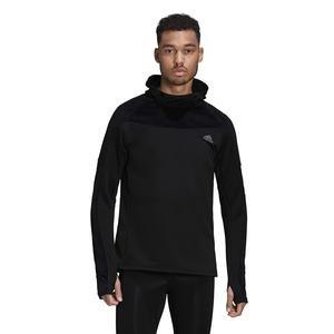 Own The Run Warm Erkek Siyah Koşu Sweatshirt FS9802