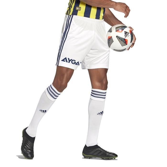 Fenerbahçe SK 2020-2021 Erkek Beyaz İç Saha Futbol Şortu GD3740 1223956