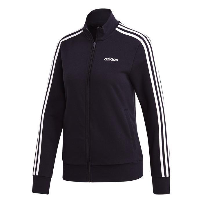 E 3S Tracktop Kadın Siyah Günlük Stil Ceket DP2411 1221771