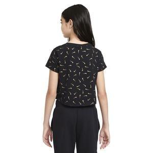 Sportswear Tee Crop Çocuk Beyaz Günlük Tişört CZ1126-011