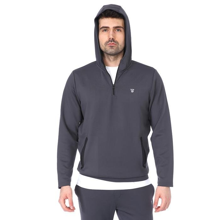 Spo-Polrunkap Erkek Antrasit Koşu Sweatshirt 711359-ANT 1160150