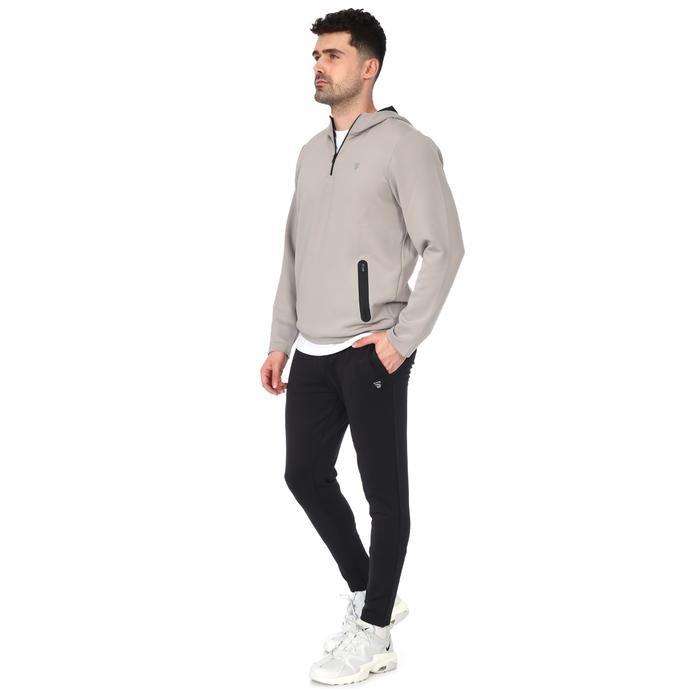Spo-Polrunkap Erkek Gri Koşu Sweatshirt 711359-GRI 1160156