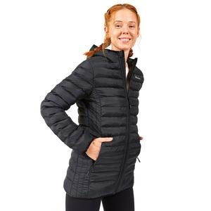 Outerwear W Long Paded Kadın Siyah Günlük Stil Ceket S202502-001