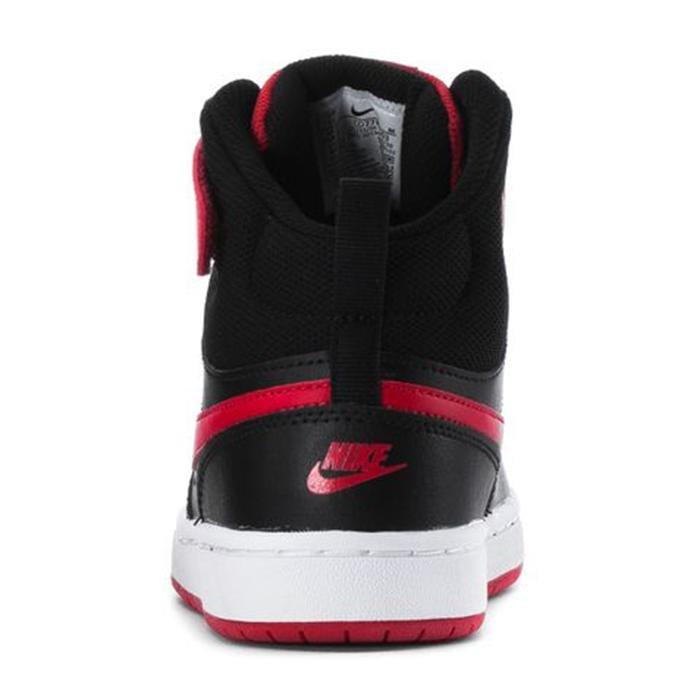 Court Borough Mid 2 (Psv) Çocuk Siyah Günlük Ayakkabı CD7783-003 1234498