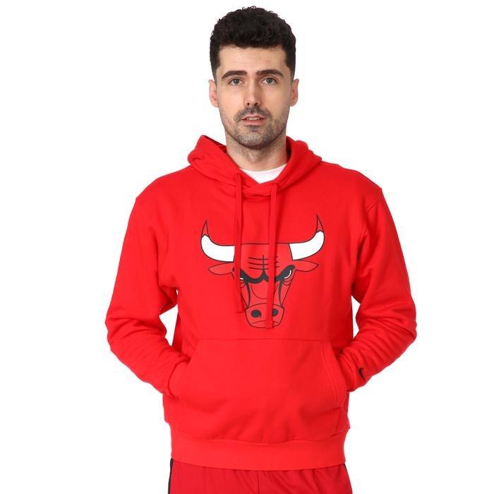 NBA Chicago Bulls Erkek Kırmızı Basketbol Sweatshirt CN1191-657 1234620