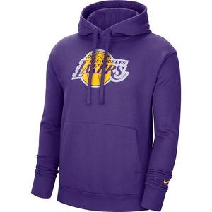 NBA Los Angeles Lakers Erkek Mor Basketbol Sweatshirt CN1197-504
