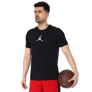 Jordan NBA Jumpman Dfct Ss Crew Erkek Siyah Basketbol Tişört CW5190-010