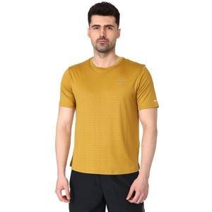 Run Dvn Miler Ss Emb Erkek Yeşil Koşu Tişört CU7880-338