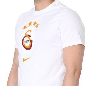 Galatasaray Tee Evergreen Crest Erkek Beyaz Futbol Tişört AQ7501-100