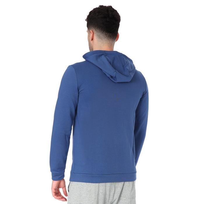 Dry Hoodie Fz Fleece Erkek Mavi Günlük Stil Sweatshirt CJ4317-469 1197104
