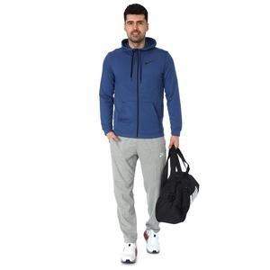 Dry Hoodie Fz Fleece Erkek Mavi Günlük Stil Sweatshirt CJ4317-469