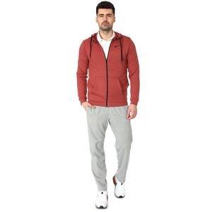 M Nk Dry Hoodıe Fz Fleece Erkek Kırmızı Günlük Stil Sweatshirt CJ4317-652