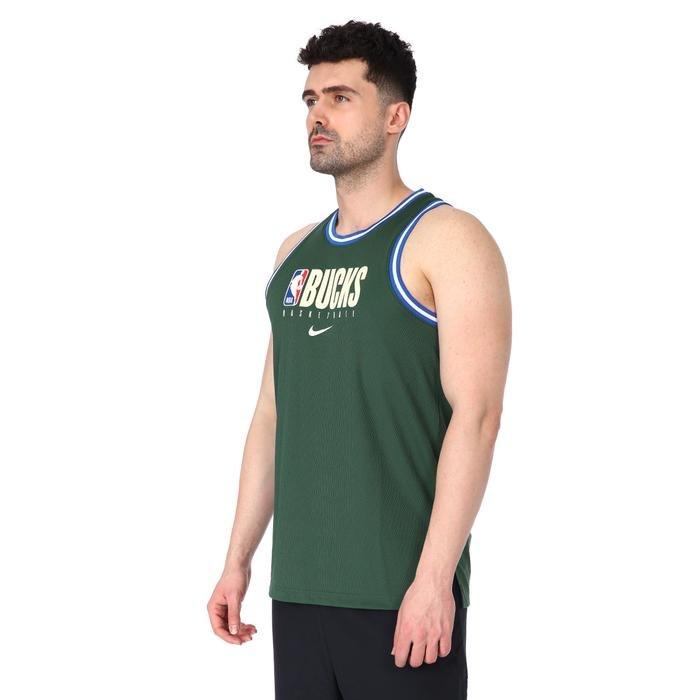 NBA Dri-Fit Milwaukee Bucks Erkek Yeşil Atlet BQ9349-323 1173417