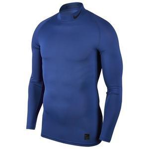 Pro Erkek Mavi Futbol Uzun Kollu Tişört BV5588-480