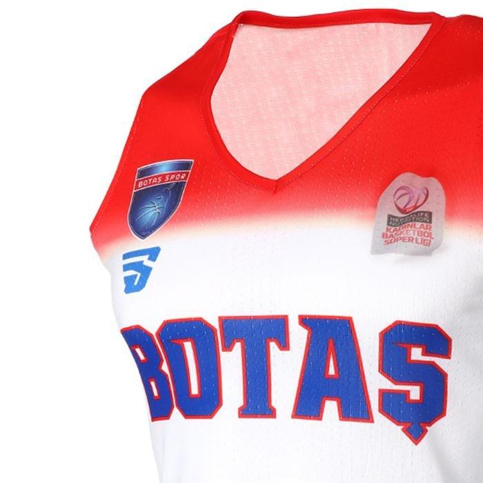 Botaş Unisex Beyaz Basketbol Forması TKB100101-BYZ 1237727