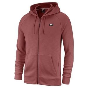 M Nsw Optic Hoodie Fz Erkek Kırmızı Günlük Stil Sweatshirt 928475-661