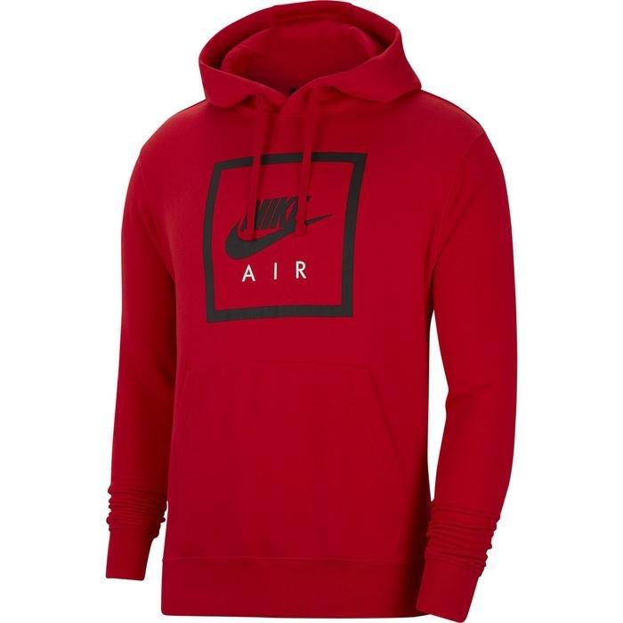 M Nsw Po Hoodie Air 5 Erkek Kırmızı Günlük Stil Sweatshirt CI1052-657 1155702
